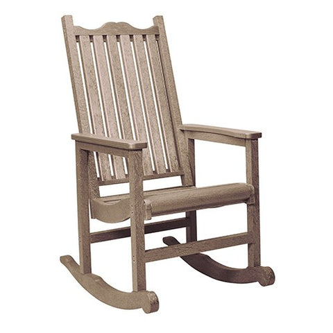 C05 PORCH ROCKER BEIGE CR PLASTICS