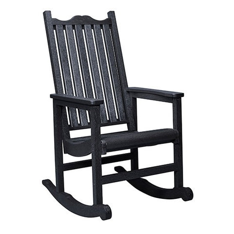 C05 PORCH ROCKER BLACK CR PLASTICS