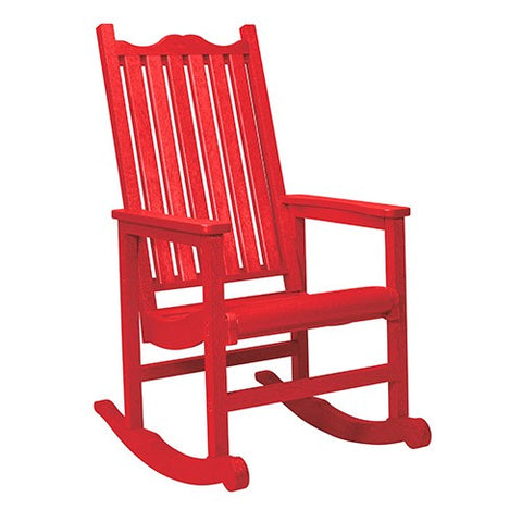C05 PORCH ROCKER RED CR PLASTICS