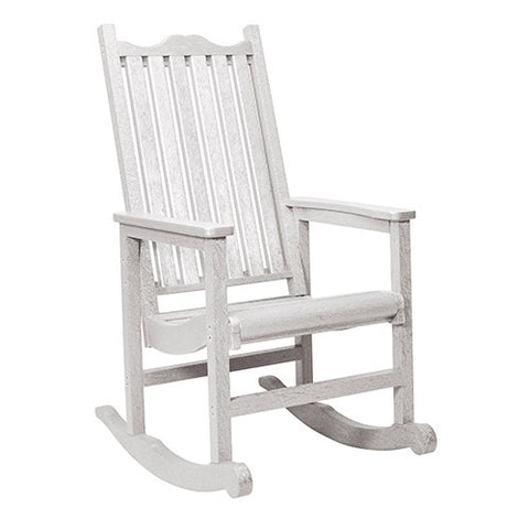 C05 PORCH ROCKER WHITE CR PLASTICS