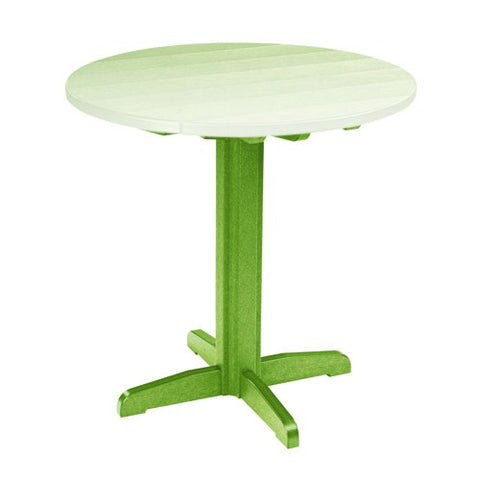 "TB13 40"" PUB PEDESTAL BASE KIWI 17 OUTDOOR FURNITURE"