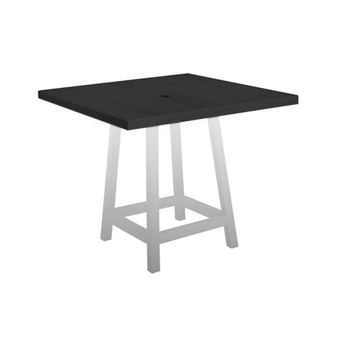"TT13 40"" PUB TABLE TOP BLACK 14"