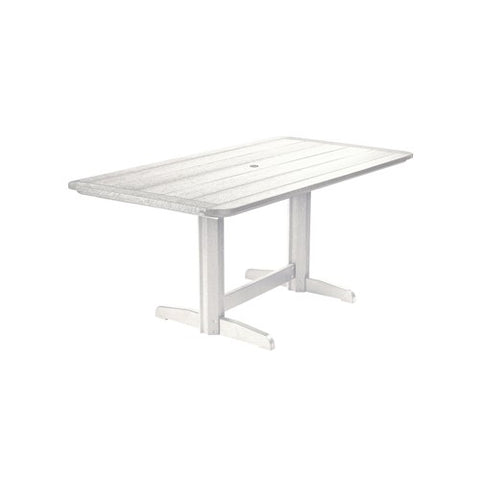 "T11 72"" RECTANGULAR DINING TABLE WHITE 02"