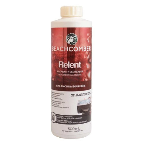 Relent 500ml - Alkalinity Decrease Beachcomber Hot Tubs