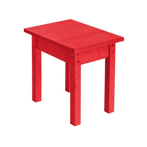 T01 SMALL RECTANGULAR TABLE RED 01