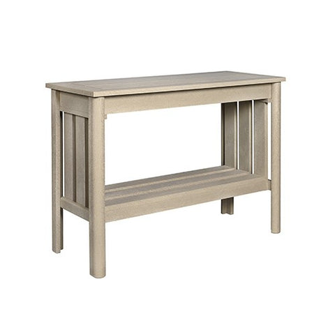 "CR PLASTICS DST149 44"" SOFA TABLE BEIGE"
