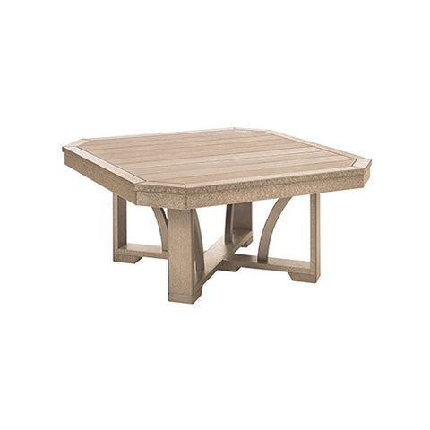 "T30 35"" SQUARE COCKTAIL TABLE BEIGE 07"