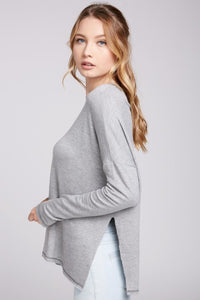 Heather Grey Long Sleeve