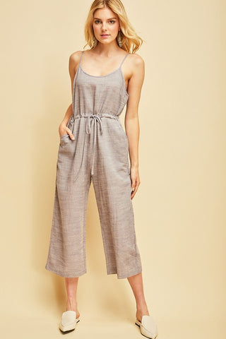 Grey everyday jumpsuit