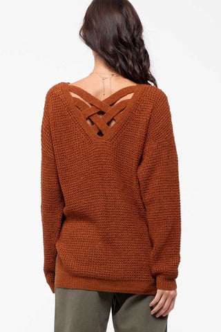 Criss Cross Back - Rust