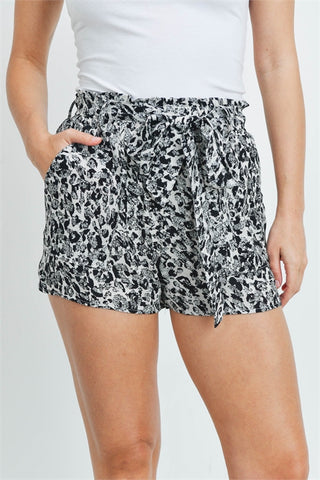 Sand Leopard Shorts