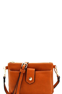 Versatile Cellphone Compartment Cross Body