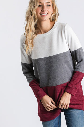 Color Block Tunic
