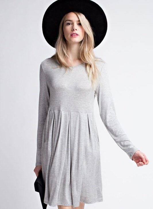 Everyday gray dress