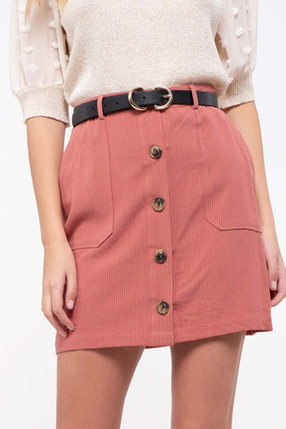 Sienna Button Down Skirt