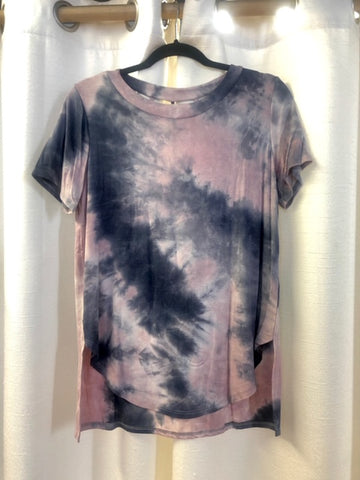 Tie Dye Back Cage Top