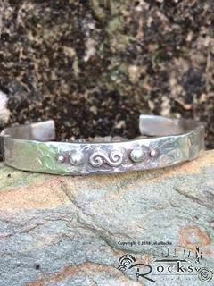 Handcrafted Silver Cuff Style Bracelet