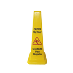 Wet Floor/Caution Sign, Cone Shaped