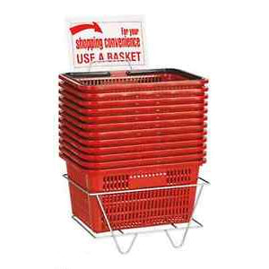 Regular Handbasket (Set of 12 w/ Sign & Stand)