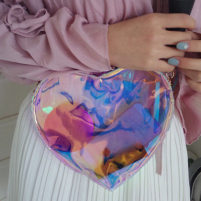 Holo Heart Bag