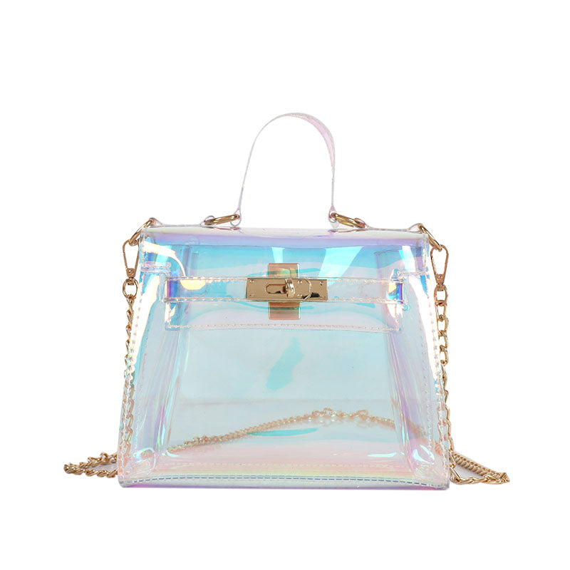 Holographic messenger bag