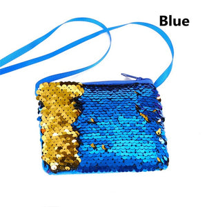 Mermaid Sequins Coin Purse Wallet