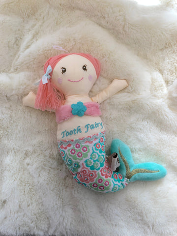MC-Mermaid Tooth Fairy Pillow