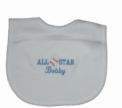 Personalized All Star Bib
