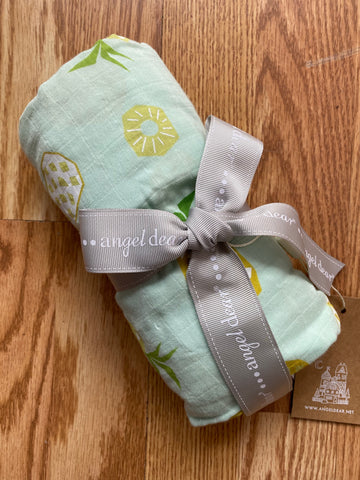AD-Pineapple Swaddle (Green)