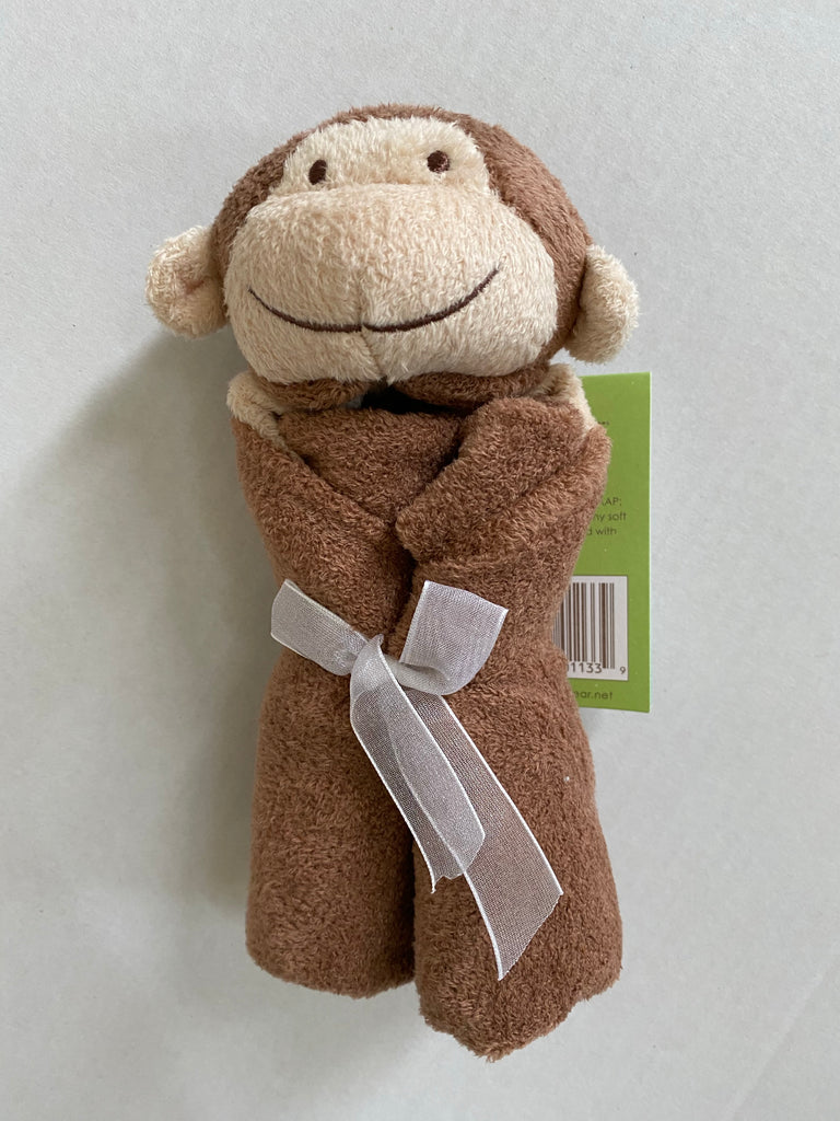 monkey, monkey blankie, angel dear, angel dear lovie, baby gift