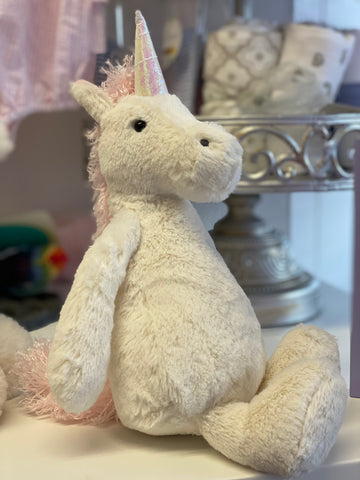 JC-Bashful Unicorn Plush Medium