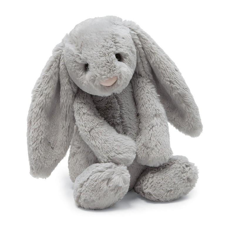 jellycat, bashful bunny, grey bunny, easter bunny, easter plush, baby gift