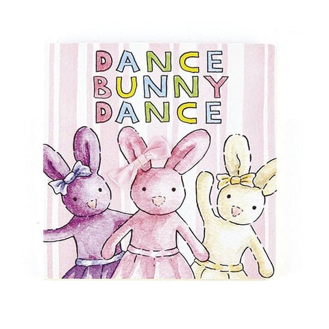 Dance Bunny Dance Board Book by Jellycat