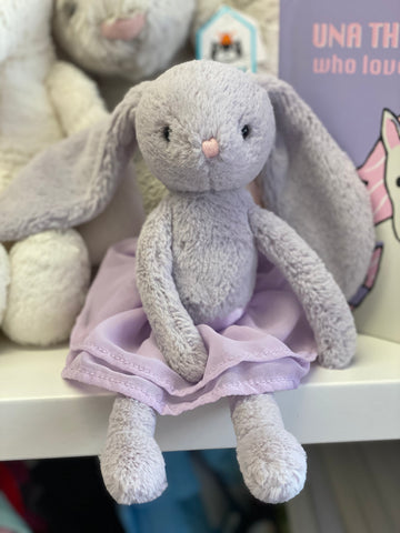 JC-Arabesque Lilac Bunny 10 inch