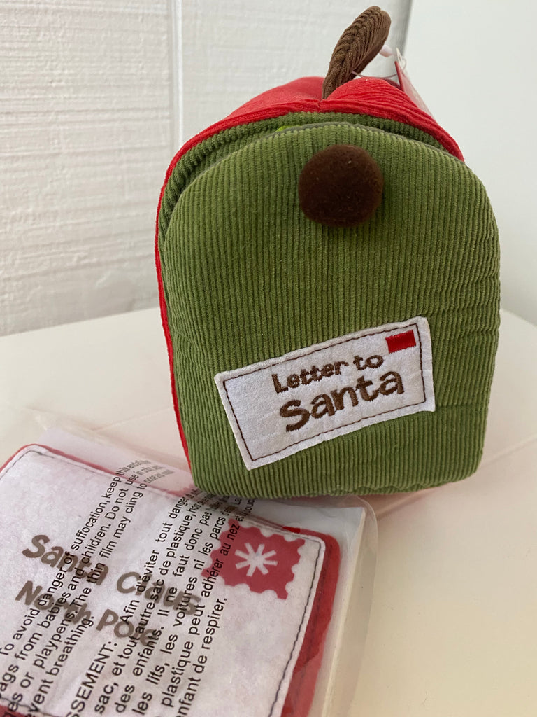 letters to snata, plush mailbox toy, letters to santa christmas toy, baby git, christmas gift