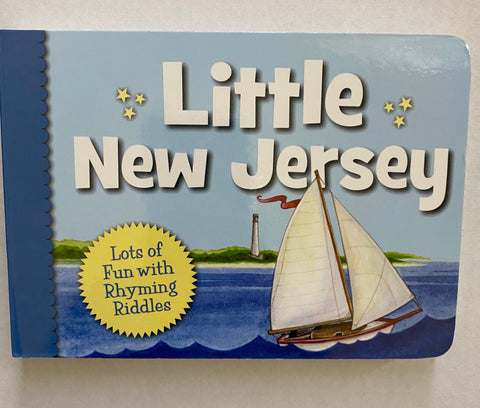 Little New Jersey Board Book