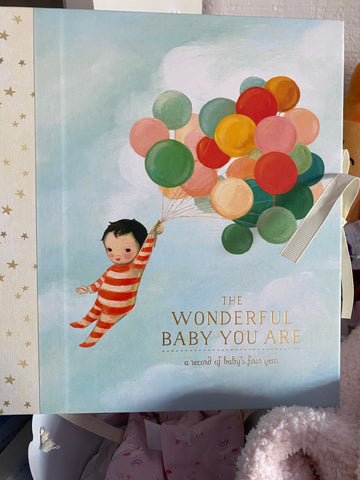 The Wonderful Baby You Are- A Record of Baby's First Year