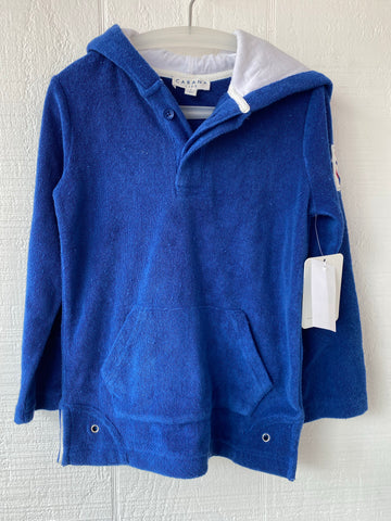 Royal Blue Hoodie/Coverup
