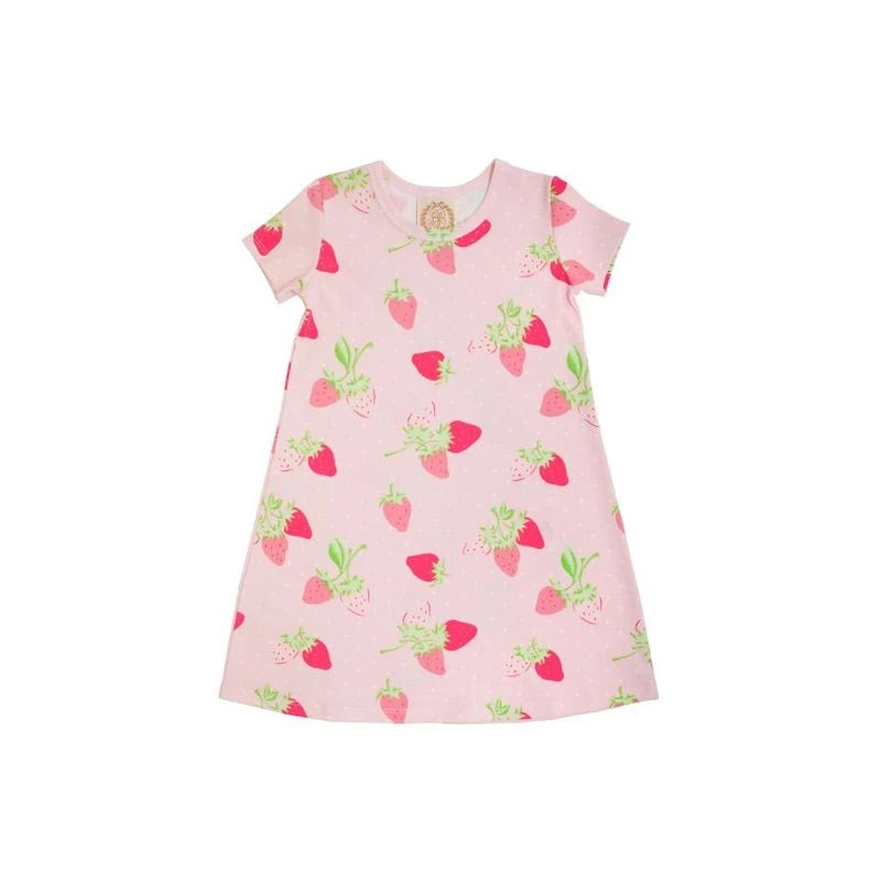 tbbc, beaufort bonnet, summershade strawberry, polly play dress