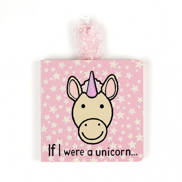 if i were a unicorn board book by jelly cat