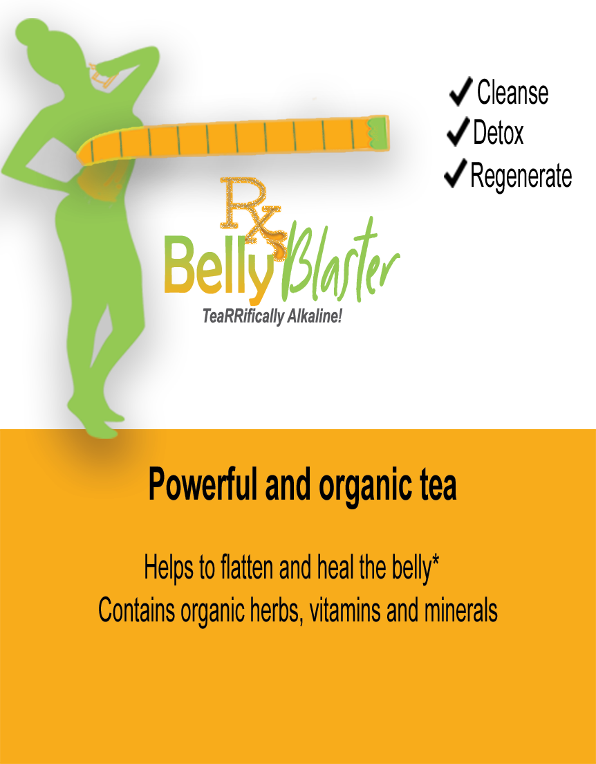 #JuicePrescriptions Belly Blaster - TeaRRIFICALLY Alkaline