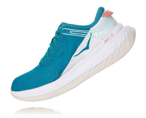 Hoka W CARBON X Caribbean Sea / White