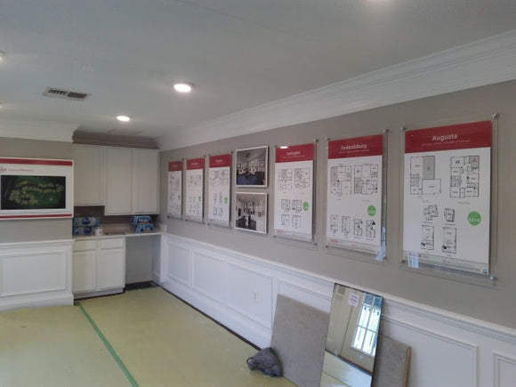 Community Floor Plan Display