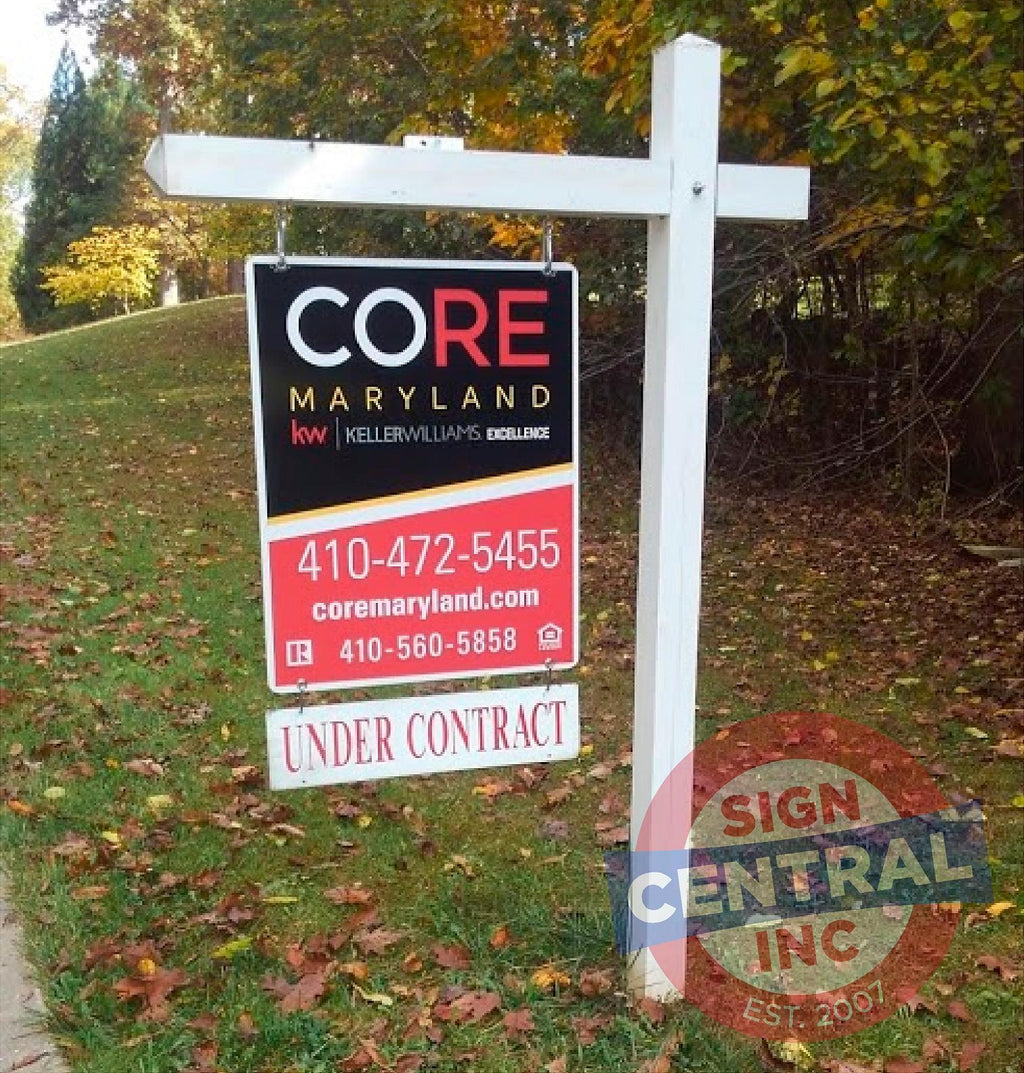 Realtor Sign on Post Setup