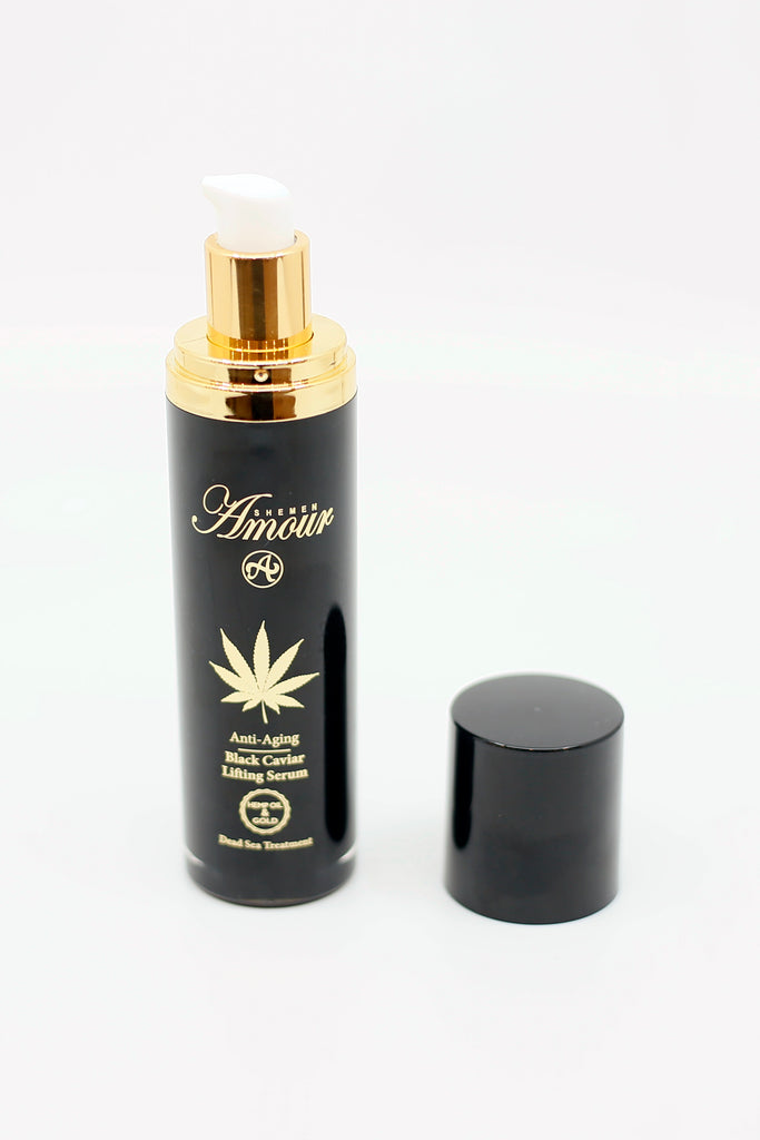 Anti Aging Hemp & Gold Black Caviar Lifting Serum