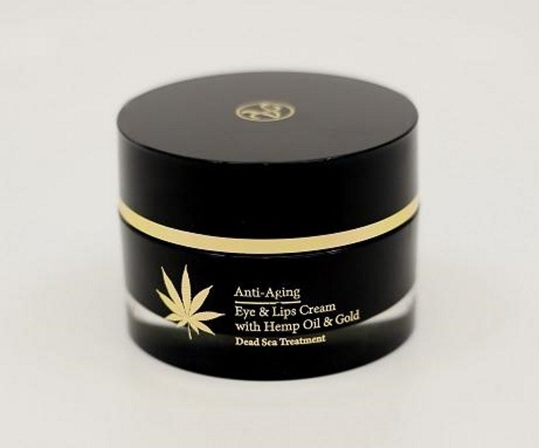 Anti Aging Hemp & Gold Eye & Lips Cream