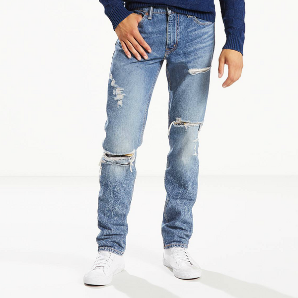 Levi's 511 Slim Fit Stretch Destructed