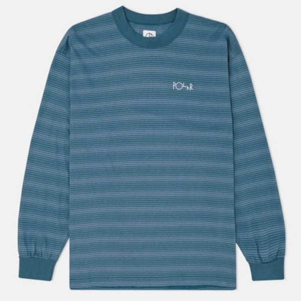 Polar Skate Co. Gradiant Striped Longsleeve T-Shirt