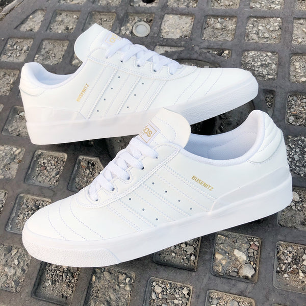 Adidas Busenitz Vulc - White Leather