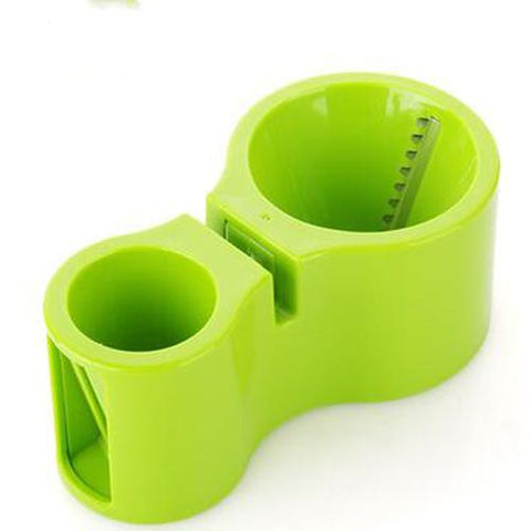 Kitchen Accessory - Look At This! A Veggie Shredder, Grater And Knife Sharpener All Built In To The Same Tool. Safely Shred Your Carrots Or Squash For Delicious And Attractive Dishes.